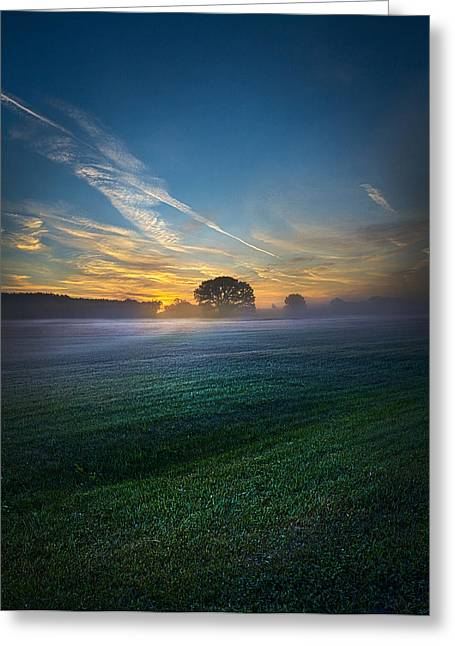 Geographic Greeting Cards - A New Day Greeting Card by Phil Koch