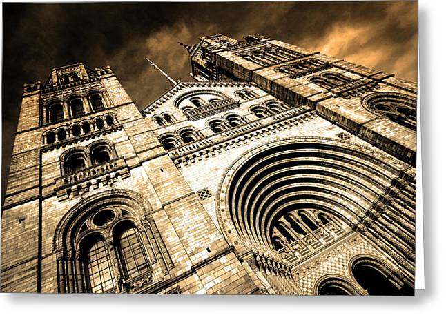 a night at the museum Greeting Card by Jez C Self