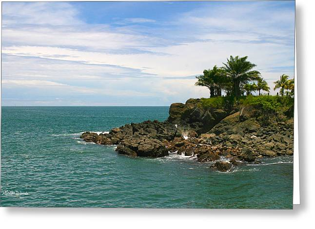Celebrate Life Greeting Cards - A Place to Celebrate Life Quepos Costa Rica Greeting Card by Michelle Wiarda