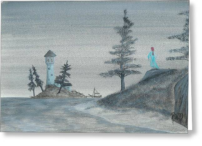 Robert Meszaros Greeting Cards - A Song For Lost Souls... Greeting Card by Robert Meszaros