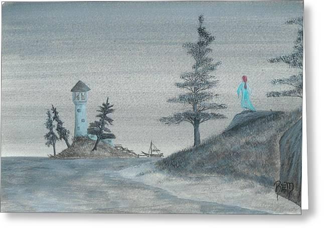 Recently Sold -  - Robert Meszaros Greeting Cards - A Song For Lost Souls... Greeting Card by Robert Meszaros