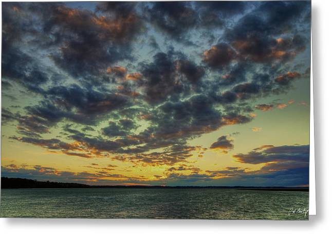 Beaufort County Greeting Cards - A Special Night Greeting Card by Phill  Doherty