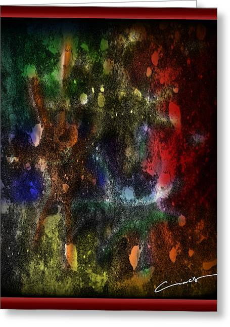 Applause Greeting Cards - A Splatter of Applause Greeting Card by Michael Hurwitz