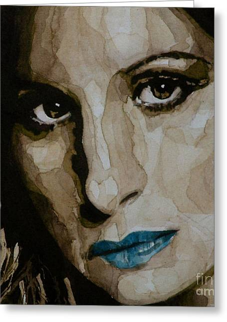 Barbara Paintings Greeting Cards - A Star is Born Greeting Card by Paul Lovering