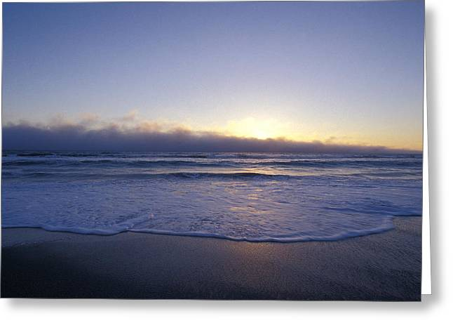 Calming The Storm Greeting Cards - A Storm Cloud Front On The Horizon Greeting Card by Jason Edwards