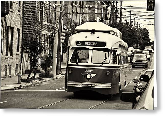 Bill Cannon Photography Greeting Cards - A Streetcar Named Desire Greeting Card by Bill Cannon