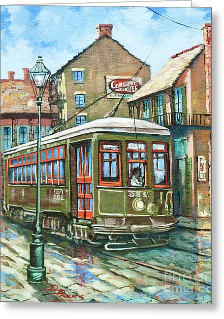 Desires Greeting Cards - A Streetcar Named Desire Greeting Card by Dianne Parks