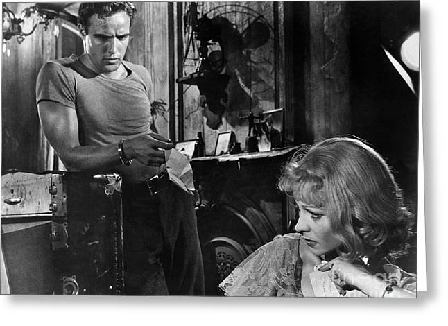 Blanche Greeting Cards - A Streetcar Named Desire Greeting Card by Granger