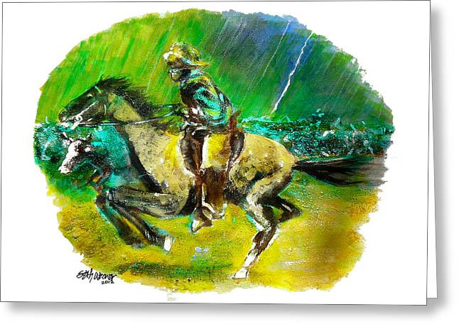 And Sand-mix Greeting Cards - A Study of Remington Greeting Card by Seth Weaver