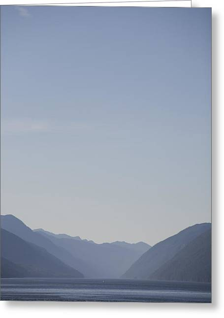 Inside Passage Greeting Cards - A Sunny Summer Day On The Haze Greeting Card by Taylor S. Kennedy