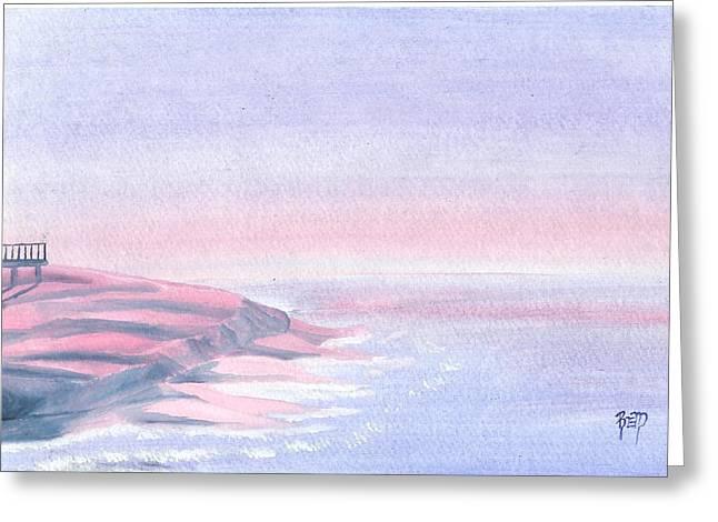 Robert Meszaros Greeting Cards - A Sunrise In Paradise... Greeting Card by Robert Meszaros