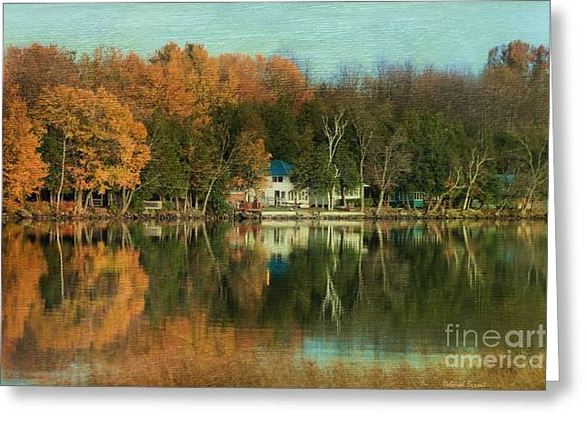 A Time Of Natures Beauty Greeting Card by Deborah Benoit