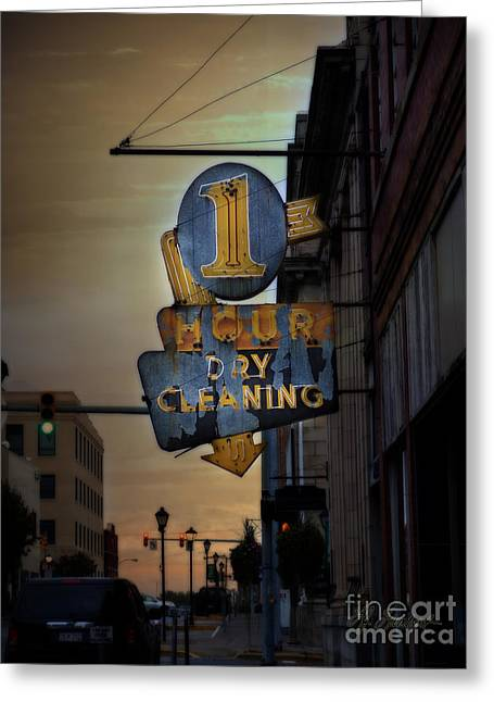 Old Roadway Greeting Cards - A Touch of Charactor Greeting Card by Lj Lambert