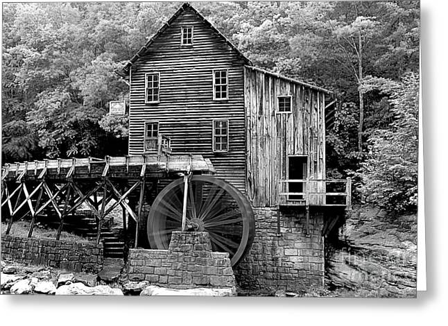 Grist Mill Greeting Cards - A Touch Of Yellow Greeting Card by Adam Jewell