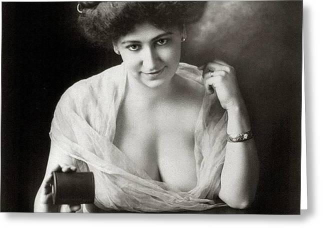 A Winning Miss 1911 Greeting Card by Padre Art
