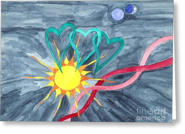 Robert Meszaros Greeting Cards - A World View... Greeting Card by Robert Meszaros