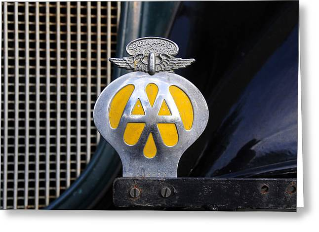 American Automobiles Greeting Cards - AAA South Africa Greeting Card by David Lee Thompson