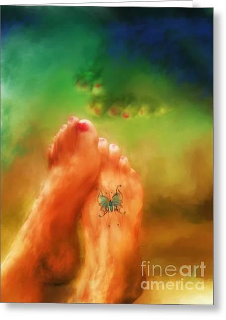 Best Sellers -  - Marilyn Sholin Greeting Cards - Aah Summer Greeting Card by Marilyn Sholin
