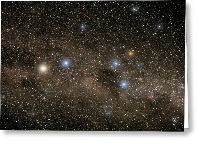 Horus Greeting Cards - Ab Centauri Stars In The Southern Cross Greeting Card by Akira Fujii
