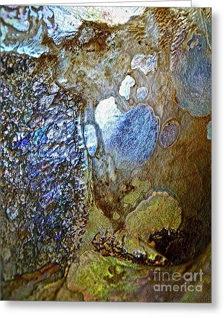 Abalone Greeting Cards - Abalone Essence Greeting Card by Gwyn Newcombe