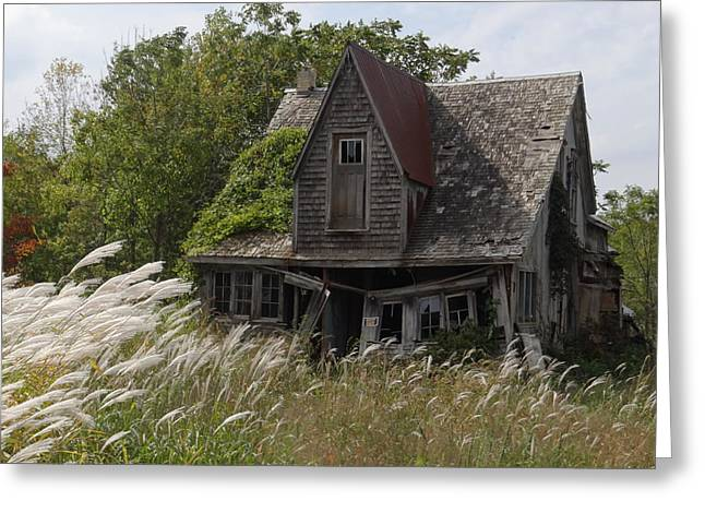 Abandoned Farmhouse 2 Greeting Card by Bruce Ritchie
