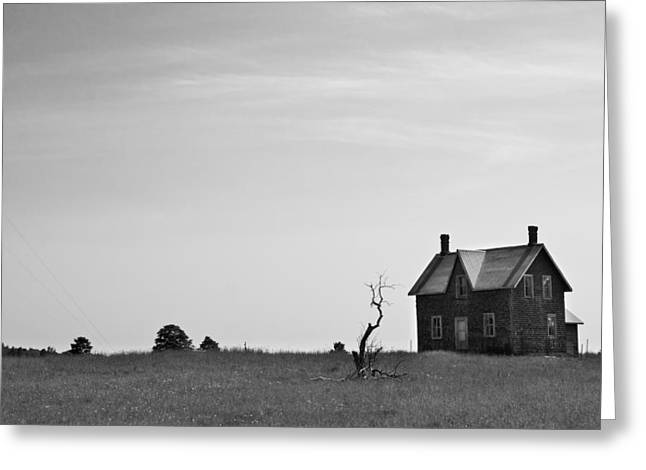 Abandoned Houses Greeting Cards - Abandoned Farmhouse Greeting Card by Cale Best