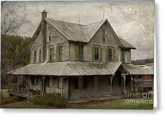 Abandoned Homestead Greeting Card by John Stephens