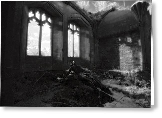 Medieval Temple Greeting Cards - Abandoned Greeting Card by Matt Nuttall