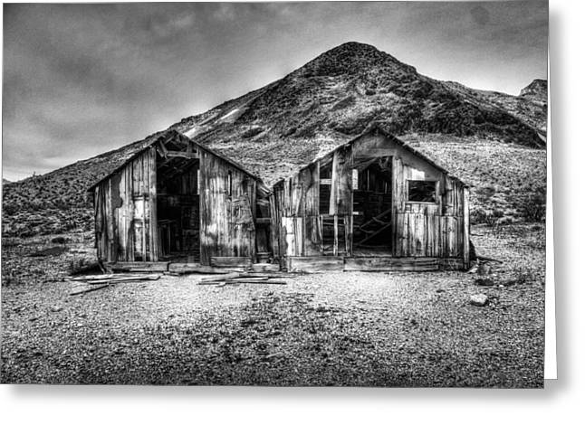 Mining Photos Greeting Cards - Abandoned Greeting Card by Matthew Smtih