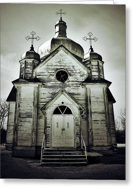 Edmonton Photographer Greeting Cards - Abandoned Prayers Greeting Card by Jerry Cordeiro