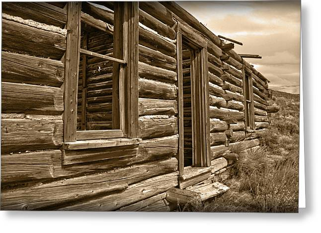 Old House Photographs Greeting Cards - Abandoned Greeting Card by Shane Bechler