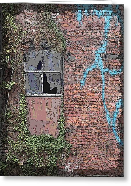 Abandoned Greeting Card by Tim Allen