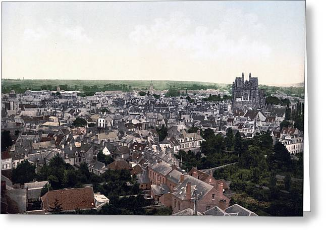 Sommes Greeting Cards - Abbeville France Greeting Card by International  Images