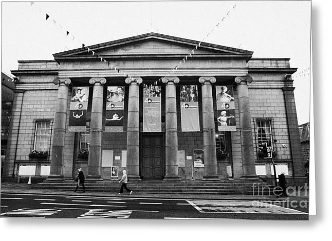 aberdeen music hall formerly the citys assembly rooms union street scotland uk Greeting Card by Joe Fox