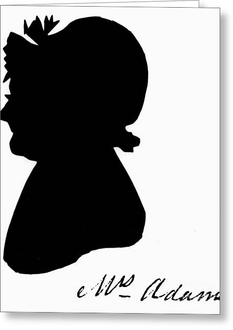 First-lady Greeting Cards - Abigail Adams Greeting Card by The Granger Collection