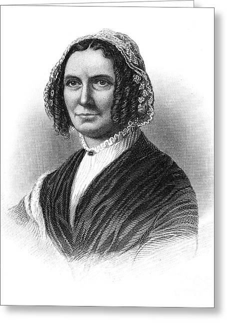 First-lady Greeting Cards - Abigail Fillmore (1798-1853) Greeting Card by Granger