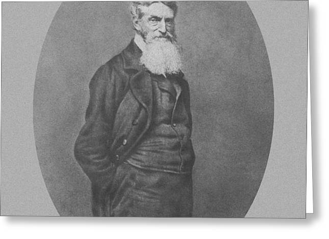 Abolitionist John Brown Greeting Card by War Is Hell Store