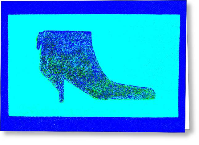 Boots Digital Art Greeting Cards - About-A-Boot I Greeting Card by Forartsake Studio