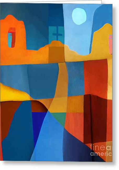 Abstract Digital Digital Art Greeting Cards - Abstract # 2 Greeting Card by Elena Nosyreva