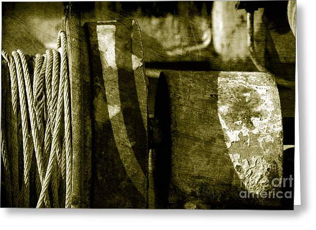 Texture Greeting Cards - Abstract - 3 Greeting Card by Susanne Van Hulst