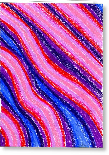 Pattern Pastels Greeting Cards - Abstract 10 Greeting Card by Hakon Soreide