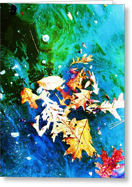 Abstract-11 Greeting Card by Todd Sherlock