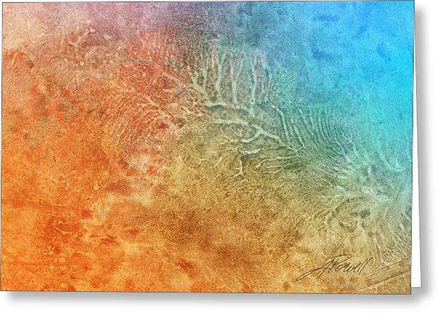 Abtract Greeting Cards - Abstract 205 Greeting Card by Ann Powell