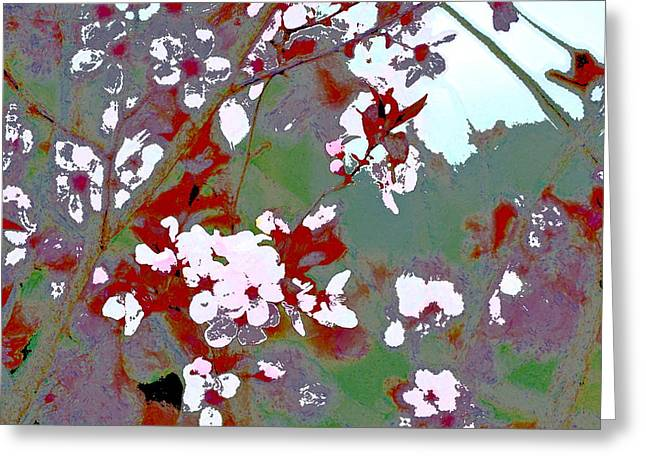 Pamela Cooper Greeting Cards - Abstract 211 Greeting Card by Pamela Cooper