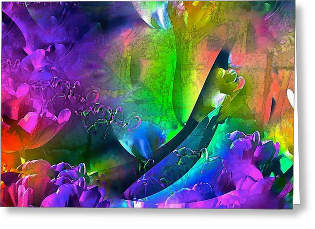 Pamela Cooper Greeting Cards - Abstract 255 Greeting Card by Pamela Cooper
