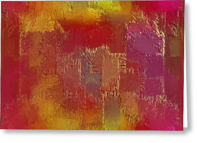 Abstract 258 Greeting Card by John Krakora
