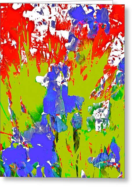 Pamela Cooper Greeting Cards - Abstract 260 Greeting Card by Pamela Cooper