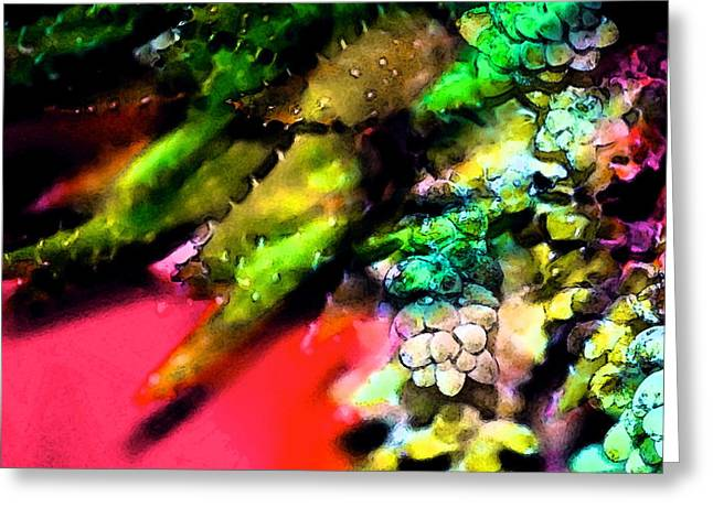 Pamela Cooper Greeting Cards - Abstract 263 Greeting Card by Pamela Cooper