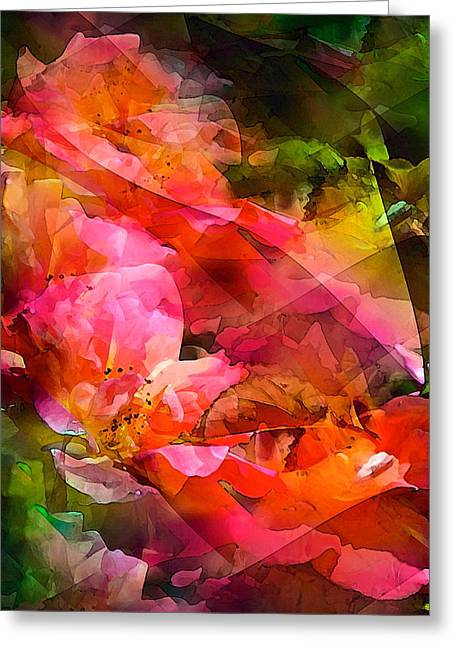 Pamela Cooper Greeting Cards - Abstract 273 Greeting Card by Pamela Cooper
