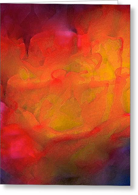 Pamela Cooper Greeting Cards - Abstract 279 Greeting Card by Pamela Cooper